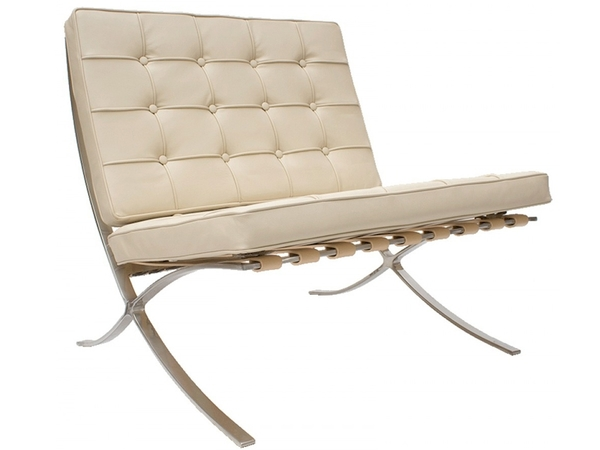 Barcelona chair - Cream