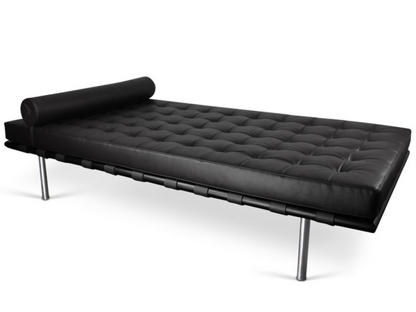 Barcelona Day bed 198 cm - Black