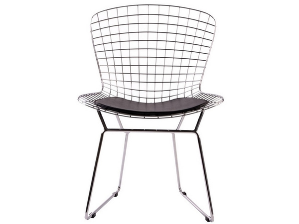Bertoia Wire side chair - Black