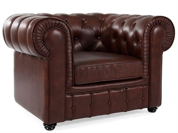 Chesterfield Club Chair - Brown