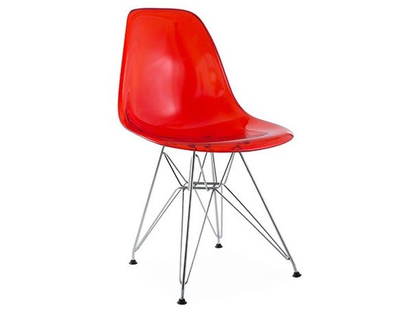 DSR chair - Clear red