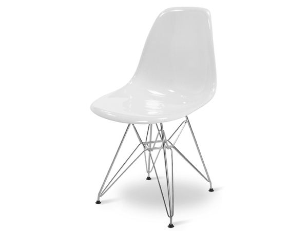 DSR chair - White shiny
