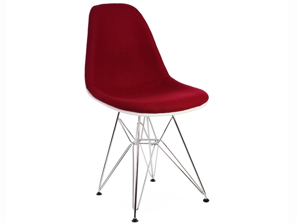 DSR chair wool padded - Red