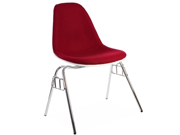 DSS chair stackable padded - Red