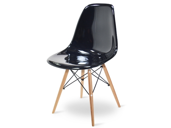 DSW chair - Black shiny