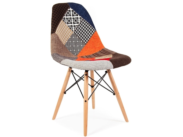 DSW chair padded - Patchwork