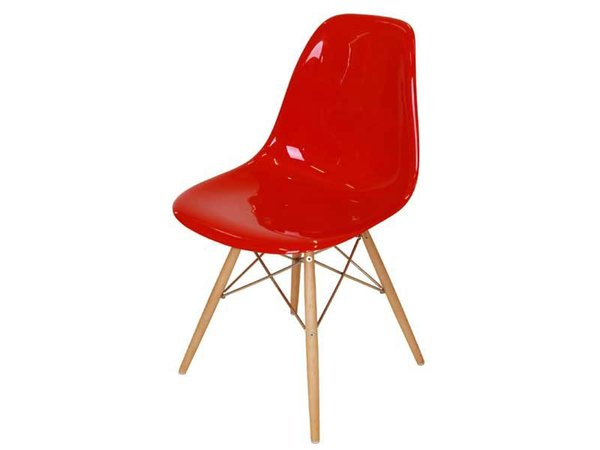 DSW chair - Red shiny