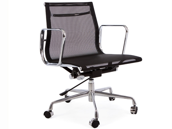Eames chair Alu EA117 - Black