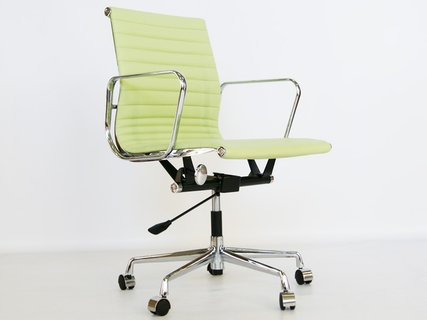 Eames chair Alu EA117 - Lemon green