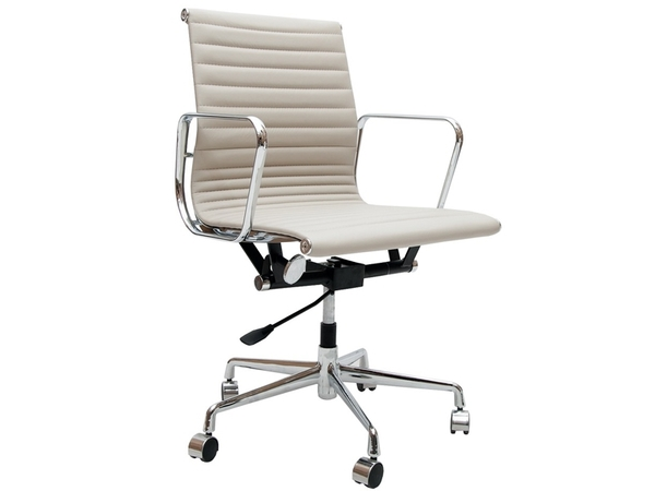 Eames chair Alu EA117 - Light grey