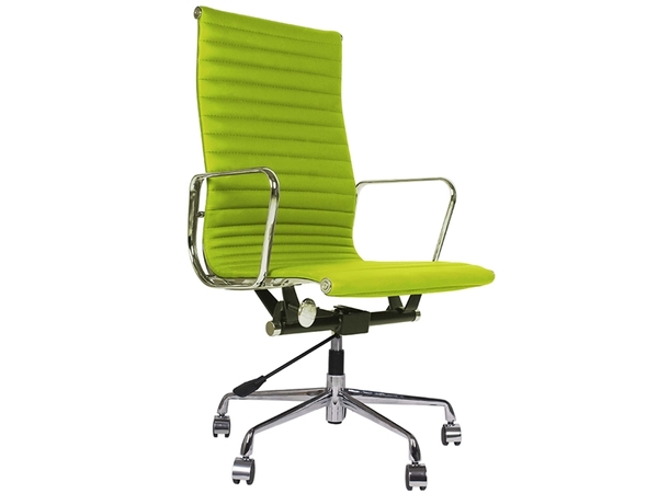 Eames chair Alu EA119 - Apple green