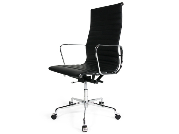 Eames chair Alu EA119 - Black