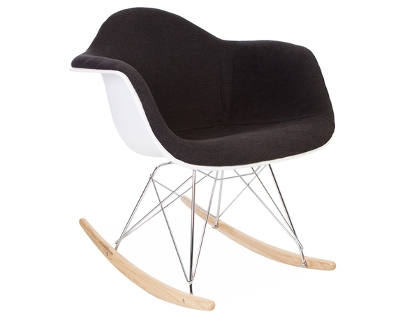 Eames RAR Wool Padded  - Grey