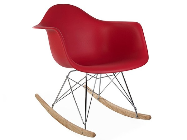 Eames Rocking Chair RAR - Red