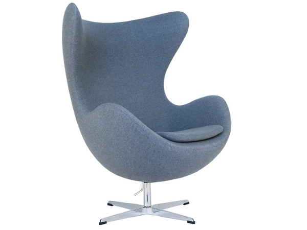 Egg Chair AJ - Grey