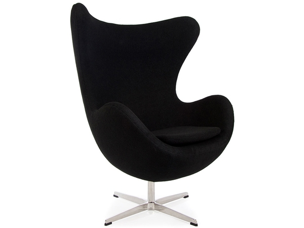 Egg chair Arne Jacobsen - Black