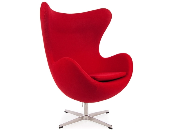 Egg Chair Arne Jacobsen - Red