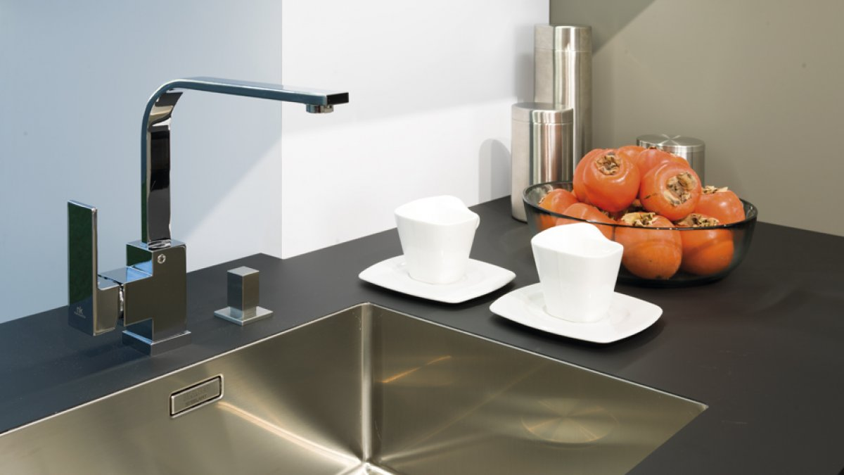 Functionality, elegance and technology for the new Emotions kitchen by Gamadecor