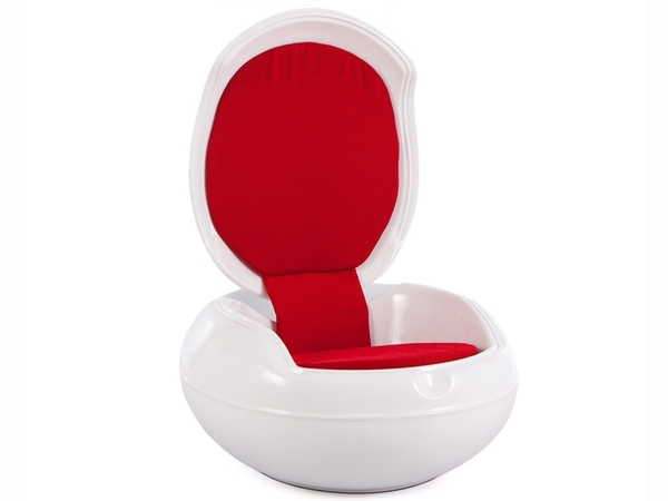 Garden Egg Chair - Red