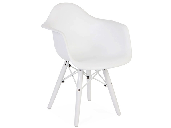 Kids Chair Eames DAW Color - White