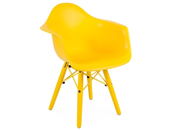 Kids Chair Eames DAW Color - Yellow