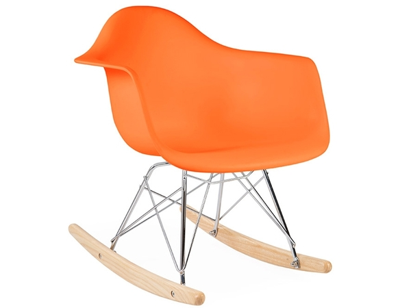 Kids Eames rocking chair RAR - Orange
