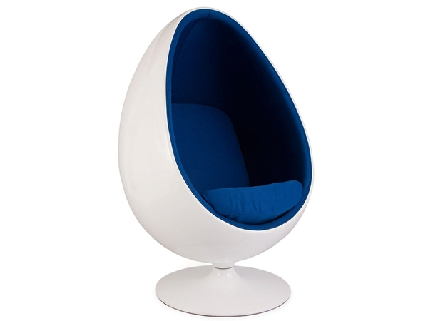Ovale Egg chair - Blue