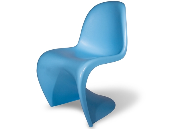 Panton chair - Blue