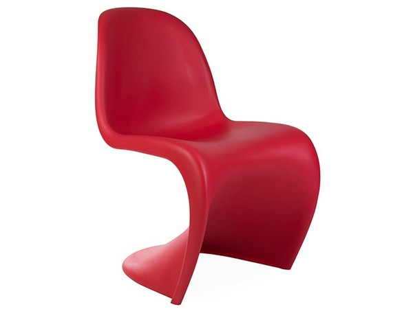 Panton chair - Red