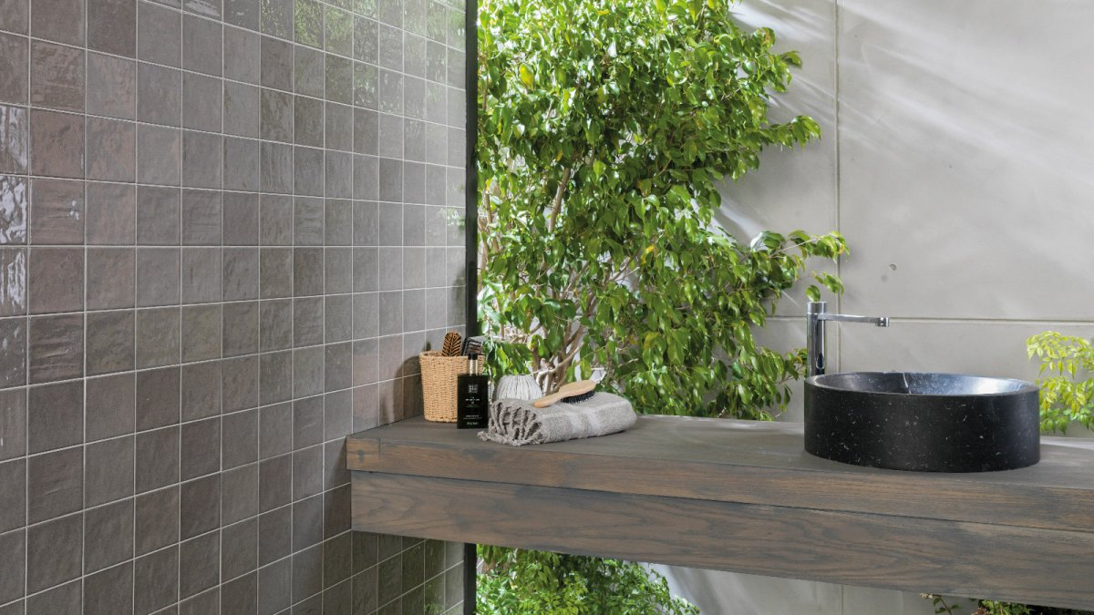 RONDA wall tiles by Porcelanosa: Mediterranean shades as watercolours