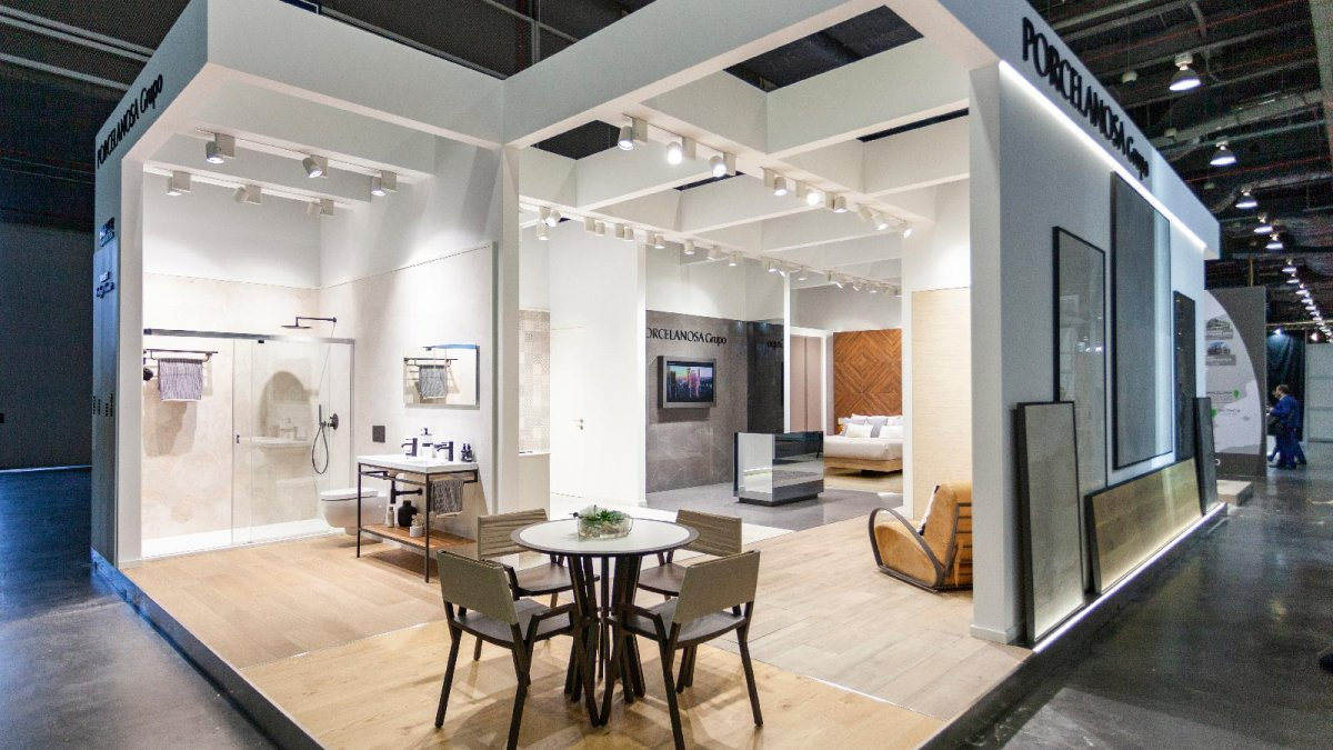 The PORCELANOSA Grupo showcases its main collections at Urbe 2018