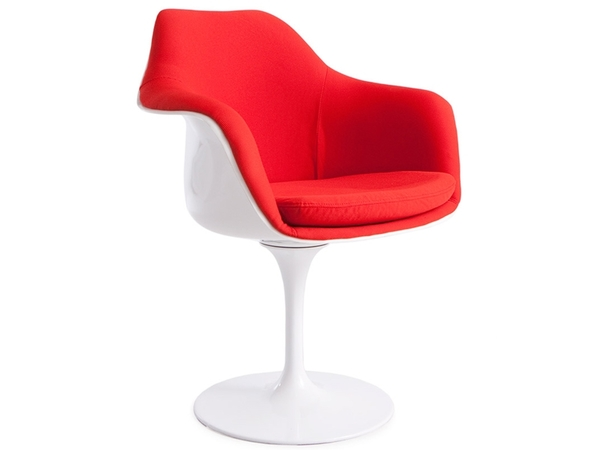 Tulip arm chair Saarinen - Wool padded