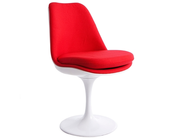 Tulip chair Saarinen - Wool upholstery