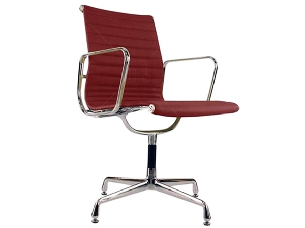 Visitor chair EA108 - Dark red