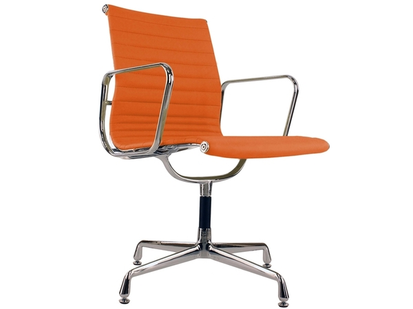 Visitor chair EA108 - Orange
