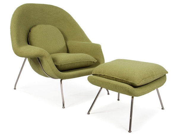 Womb chair - Olive green